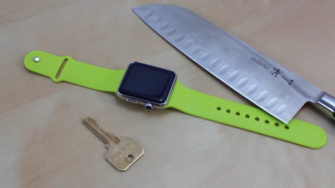 Apple Iwatch Sport Box Test | Apple Iwatch Sport