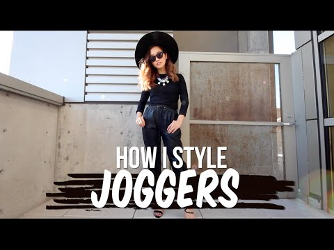 How I Style | Joggers