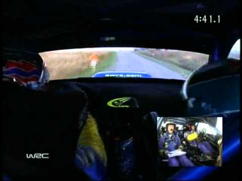 WRC Rally 2005 Great Britain Petter Solberg Onboard pure sound