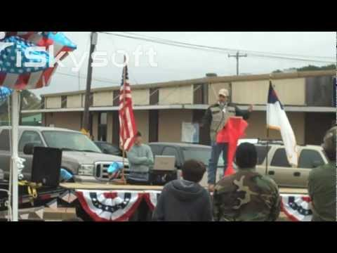 Shane Dyson 2nd Amendment rally Farmerville LA
