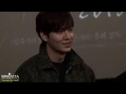 [직캠] 20150117 이민호 강남1970 대구 CGV 한일극장 무대인사 (by.소심눈화)