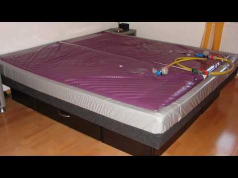 wasserbett youtube. Black Bedroom Furniture Sets. Home Design Ideas