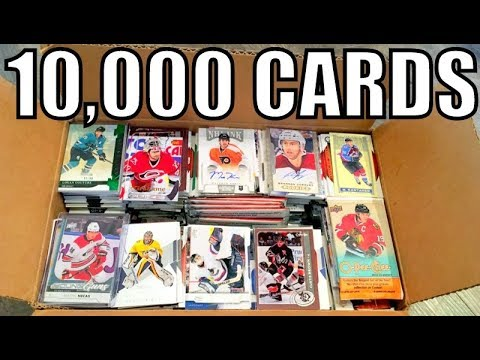 I'm Giving Away 10,000 Hockey Cards...