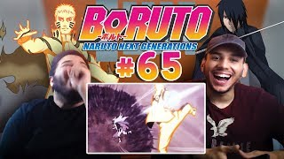 "REACTION | ""Boruto Episode 65"" - BEST ANIME FIGHT EVER"