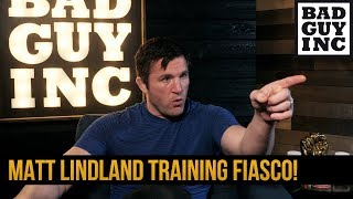 Crazy Matt Lindland training story...