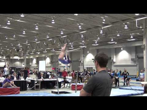 Eileen Malecki - Bars, 5th Place, Region 5 Championships 2012