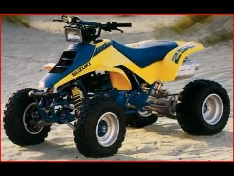 Clymer Manuals Suzuki Quad Racer LT250R ATV Four 4 Wheeler Manual Quad Video