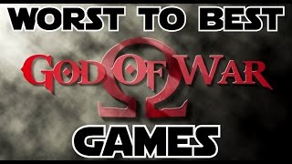 Worst To Best: God of War Games