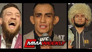 Tony Ferguson Reacts to Possibility of Khabib vs Conor McGregor Rematch  (UFC 229)