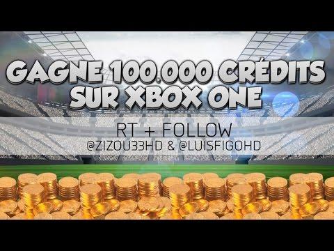 FUT 16 - Concours gagne 100 000 crédits en 4 minutes !