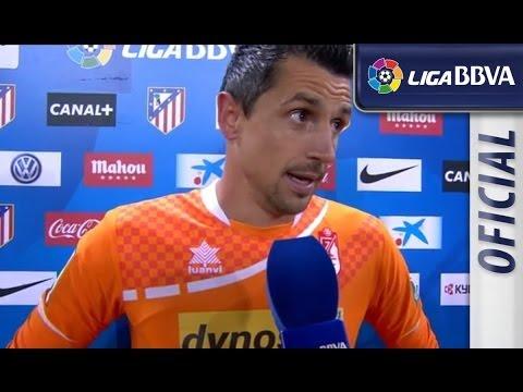 Entrevista   Interview Roberto tras el Atlético de Madrid (1-0) Granada CF - HD SUSCRIBETE AL MEJOR CANAL HD La Liga   Entrevista a Roberto tras el Atlético de Madrid (1-0) Granada CF J30...