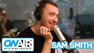Download Lagu Sam Smith Fangirls Ariana Grande | On Air with Ryan Seacrest Gratis STAFABAND