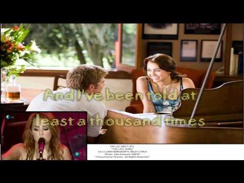 Miley Cyrus My Heart Beats For Love Karaoke (HD)