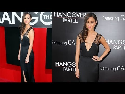 Jamie Chung's LBD Stuns at the Hangover 3 Premiere | Fashion Flash