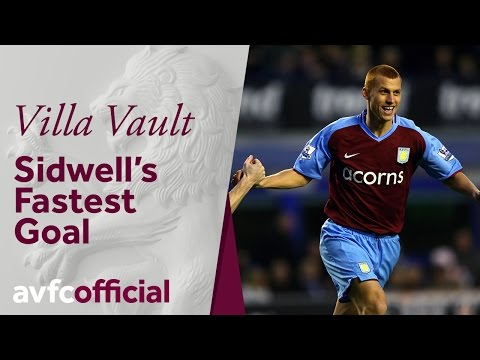 Villa Vault: Sidwell scores fastest goal in 08-09 season