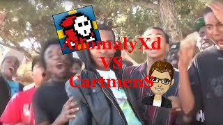 AnomalyXd & CartmenS in a beatbox battle! [ENG SUB]