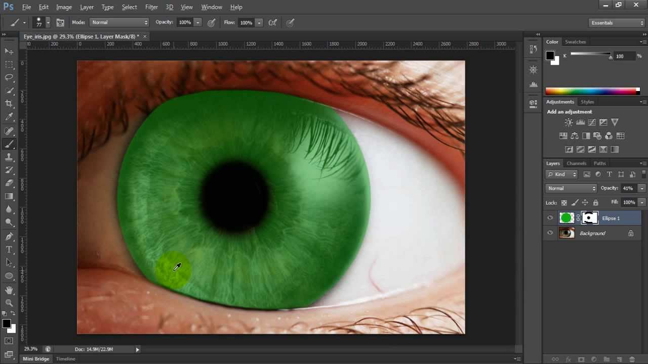 How To Change Eye Color In Photoshop Cs6