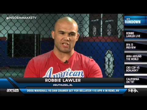 Robbie Lawler Talks About Johny Hendricks and UFC 171