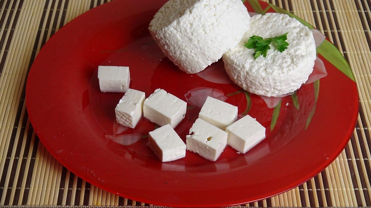 Как сделать из магазинного молока сыр 38