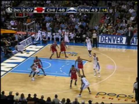 Carmelo Anthony vs Bulls 112109