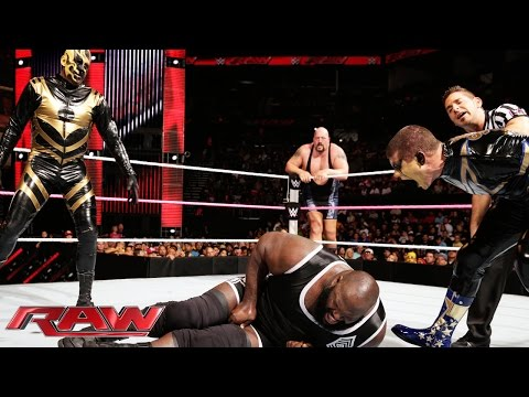 Mark Henry & Big Show Vs. Gold & Stardust - Wwe Tag Team Championship Match: Raw, Oct. 27, 2014 video