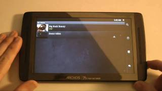 Archos 70 Internet Tablet Unboxing & Product Tour