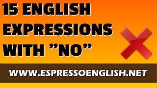 "download lagu 15 Spoken English Expressions  The Word ""no"" gratis"