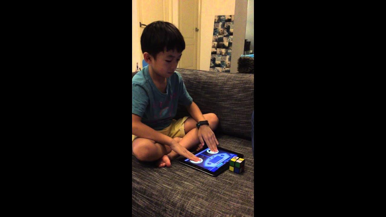 solve 2x2x2 Rubik's cube - Jadon Quah Song Yee - YouTube