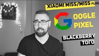 Xiaomi Mi5s и Mi5s plus, Google Pixel и Pixel XL, Blackberry того - BANG News #3