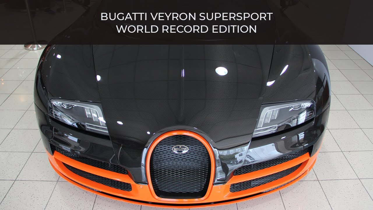 bugatti veyron supersport youtube. Black Bedroom Furniture Sets. Home Design Ideas
