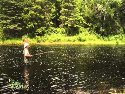 Cains River,Miramichi fishing, New Brunswick - LAMBA camp with Glen Ferguson and Jimmy Flynn