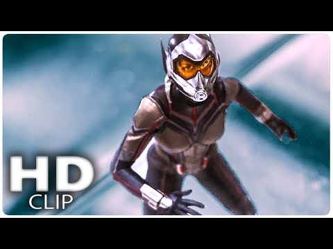 "ANT MAN AND THE WASP ""Wasp Fight"" Clip (2018)"