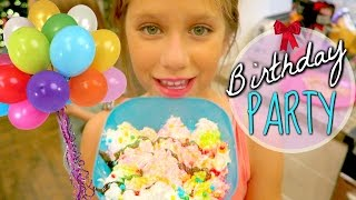 Birthday Party Adventure Hope's 11th Birthday Present Haul w/ Friends gift ideas hopes vlogs