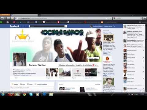 Facebook criar novo perfil