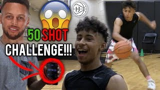 NEW!! Julian Newman BEATS WORLD RECORD in SHOOTING CHALLENGE! ShammGod's and Full Workout!