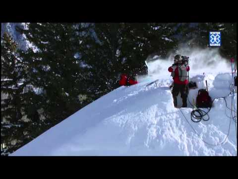 0 Winter X Games 2012: Snowboard Slopestyle Knuckle Landings