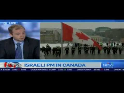 Steve McDonald welcomes Israeli Prime Minister Netanyahu on CTV's Express (1 of 2)