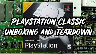 Playstation classic unboxing and teardown