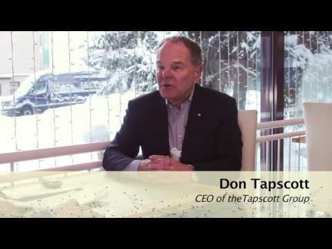 Don Tapscott, CEO of the Tapscott Group - talking about blockchain technology, its potential impact on social and economic welfare, and role in the Fourth Industrial Revolution