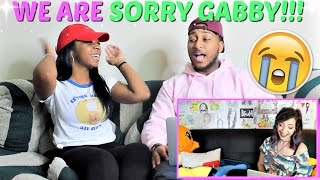 """WE ARE SORRY GABBIE!! LOL """"REACTING TO PEOPLE WHO SMASH OR PASSED ME!"""" REACTION!!!"""