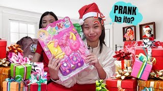 MYSTERY CHRISTMAS GIFTS AND ANGPAO HAUL NI AUREA | REGALO NI CRUSH!! | Aurea & Alexa