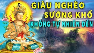 Giàu Nghèo Sướng Khổ Không Tự Nhiên Đến NGHE Phật Dạy Bỏ Ác Làm Thiện để Tăng Phúc Đời Sau Giàu Sang