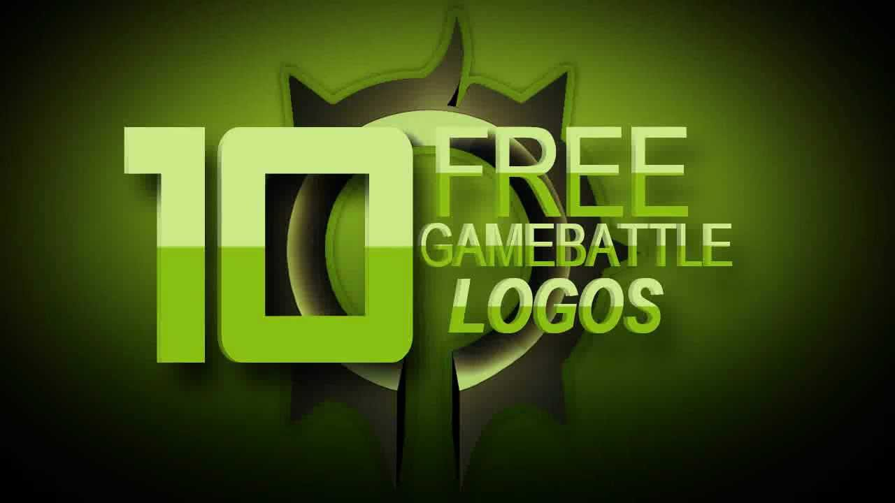 Free Gamebattle Logo Pack (PSD) #1 - YouTube