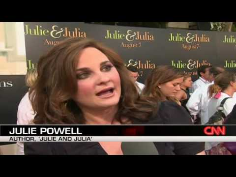 Movie 'Julie and Julia' premieres