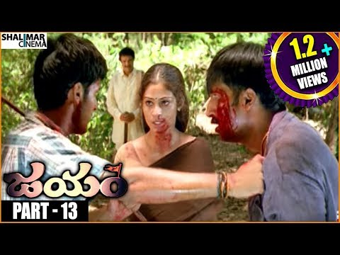 Jayam Telugu Full Movie Part - 1313 || Nithin Sada