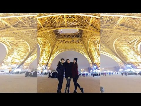 Girl Gang Spend Time In Paris |  #TellyTopUp
