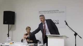 Lecture by Timothy Snyder at the Opening of Visual Culture Research Center