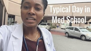 A Typical Day as a 1st Year Medical Student   Med School VLOG 6