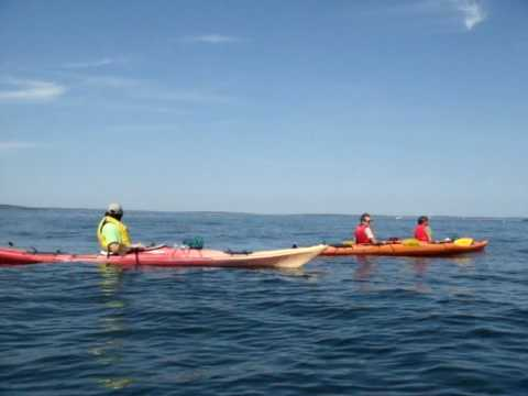 Kayaking in Bar Harbor, ME