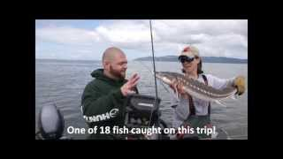 Sturgeon Fishing with Pro Guide Lacey DeWeert on the Columbia River